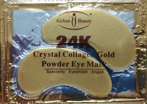 NYKKOLA 24K Gold Eye Mask Powder Crystal Gel Collagen Patches