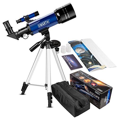 Emarth 70 mm Télescope Astronomique pour...