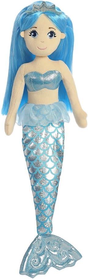 Aurora Mail Tulsa Mall order cheap 33084 Soft Toy Silver Blue Peach