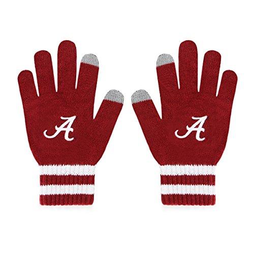 OTS NCAA Alabama Crimson Tide Men's Sportsman Touch Glove, Team Color, Men's