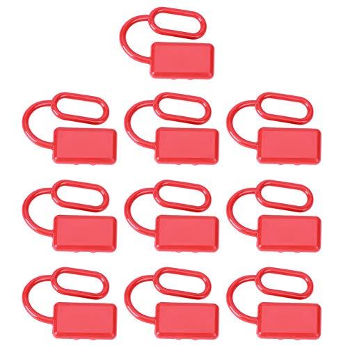 Cubierta antipolvo del conector de la carretilla elevadora 10 piezas Cubierta protectora de textura Fácil de transportar Cumplir con las demandas de reemplazo Juega el papel de la