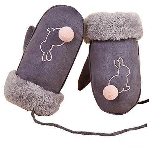 GUDENG Winter Warm Gloves Kids Baby Boys Girls Toddler Knitted Creative Cute Thicken Mittens Gloves