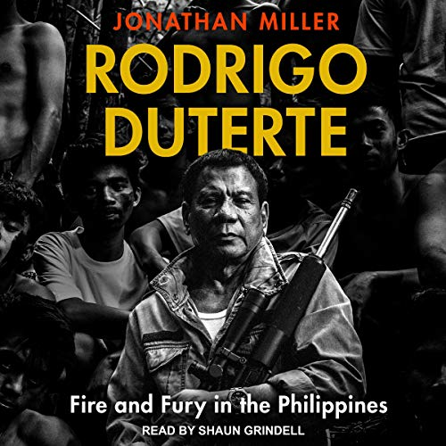 Rodrigo Duterte audiobook cover art