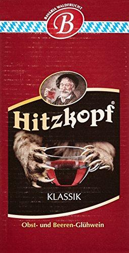 Bayernwald Hitzkopf Glühwein Klassik, aus Obst- und Beerenwein, hergestellt mit natürlichen Früchten in bester Qualität, 9 % vol, BIB 10 l