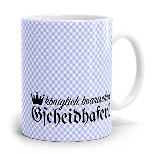 Drucksaal Bayerische-Kaffeehaferl-Bayern-Tassen-Becher-Tasse Kaffeetasse Bayerisches Gscheidhaferl