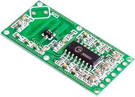 Amazon.com: Emily RCWL-0516 Doppler Radar Sensor Motion Detector Microwave Module for Arduino Green: Kitchen & Dining