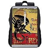 Tournee Du Xenomorphe Noir D Ellen Ripley Alien Mochila para portátil con puerto de carga USB