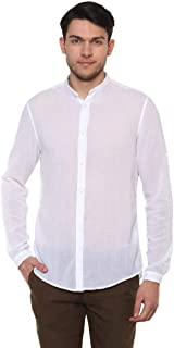Celio Men's Solid Regular fit Casual Shirt