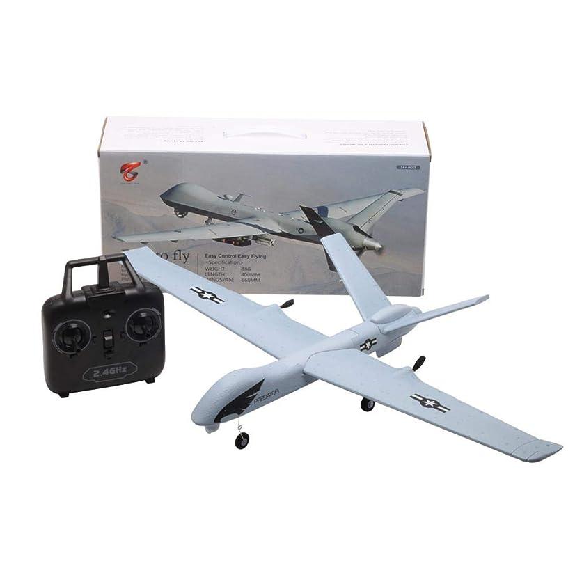 Blueyouth RC Airplane - Z51 660mm Wingspan 2.4G 2CH EPP DIY Glider RC Airplane RTF Built-in gyro Remote Control Aircraft