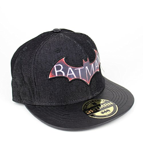 BATMAN-Logo Casquette Baseball Homme-Denim Arkham Knight Casquette