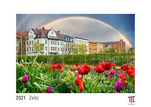 Zeitz 2021 - White Edition - Timokrates Kalender, Wandkalender, Bildkalender - DIN A3 (42 x 30 cm)
