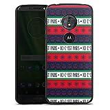 DeinDesign Motorola Moto G6 Play Coque en Silicone Étui Silicone Coque Souple PSG Paris...