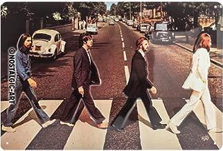 Nostalgic-Art 22261Celeb rities, The Beatles–Abbey Road, Cartel de Chapa 20x 30cm Metal, 20x 30x 0.2cm