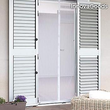 Mosquiteras magnéticas para puerta para evitar que entren los insectos, pero pase el aire, negro: Amazon.es: Bricolaje y herramientas