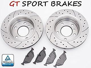 GT SPORT BRAKE DISCS GT1758 + PADS RENAULT SCÉNIC III 2009 2010 2011 2012 2013 2014