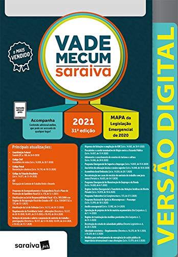 Vade Mecum Saraiva - Tradicional - 31ª Edição 2021