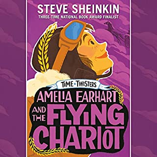 Amelia Earhart and the Flying Chariot cover art