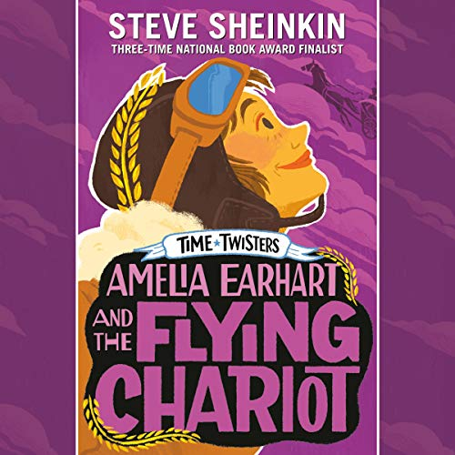 Amelia Earhart and the Flying Chariot audiobook cover art