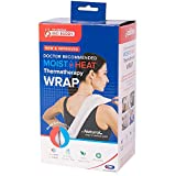 Carex Health Brands Bed Buddy Heat Pad and Cooling Neck Wrap - Microwave Heating Pad for Sore Muscles - Cold Wrap Pack for Aches and Pain 2-Pack