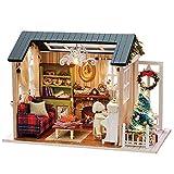 DIY Christmas Miniature Dollhouse Kit...
