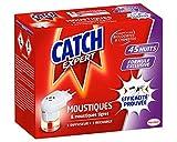 Catch Expert – Diffuseur Electrique Liquide Anti–Moustiques & Moustiques Tigres Répulsif et sa Recharge – 45 Nuits (23.5mL)