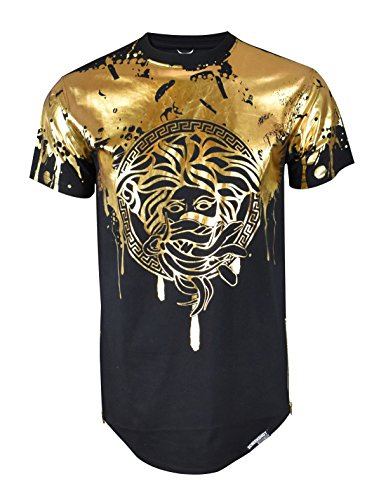 Screenshotbrand Mens Hipster Hip-Hop Premiun Tees - Stylish Longline Latest Fashion Print T-Shirts