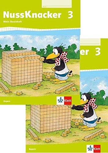 Nussknacker 3. Ausgabe Bayern: Paket Arbeitsheft, Basisheft Klasse 3 (Nussknacker. Ausgabe für Bayern ab 2014)