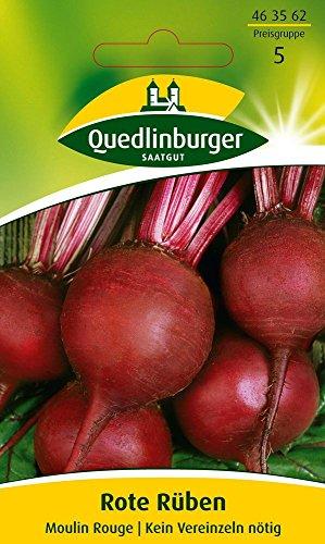 Quedlinburger 463562 Rote Rübe Moulin Rouge (Rübensamen)
