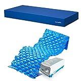 Gerialife Kit antiescaras | Colchón sanitario impermeable HR | Colchón antiescaras de aire (90x190)