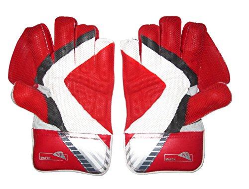 SS Match Cricket Wicket Keeping-Handschuhe, Herren, Größe S, Baumwolle Innenhandschuhe enthalten