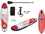 JBAY.ZONE 29001, Tavola Stand Up Paddle SUP Gonfiabile, Multicolore, 10 x 297 x...