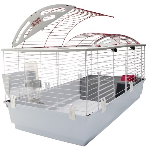 Living World Deluxe Habitat, Rabbit, Guinea Pig and Small...