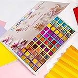 99 Colors Eyeshadow Palette, Rechoo Rainbow Colors Fusion Eyeshadow Palette, Professional Matte Glitter Makeup Pallet, Colorful Powder Long Lasting Eyeshadow