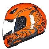 Casco de motocicleta de carreras de cara completa, casco universal para cuatro...
