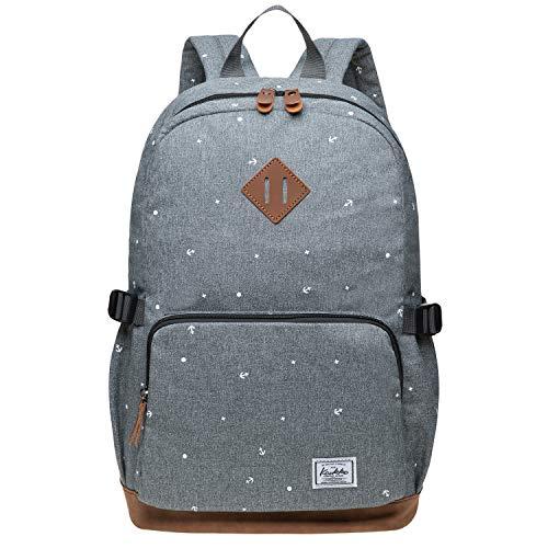 Kaukko Studenten Backpack für Mädchen Jungen & Kinder mit 14