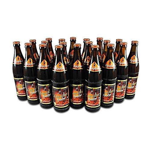 Lausitzer Kupfer Bier (20 Flaschen Bier à 0,5 l / 4,8% vol.)