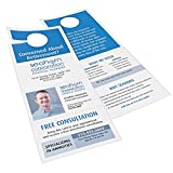 Avery Door Hanger with Tear-Away Cards, Matte White, 4.25 x 11 inches, Pack of 80 (16150)