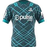 DDsports Otago Highlanders, Away Edition 2020, Maillot De Rugby, Nouveau Tissu Brodé, Swag Sportswear (Vert, L)