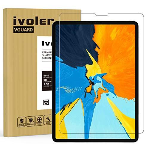 ivoler Protector de Pantalla para Nuevo iPad Pro 12.9 Pulgadas 2021/2020 /...