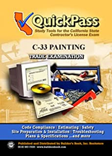 QuickPass Study Tools for the C-33 Painting License Examination - CD-ROM