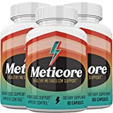 Meticore Weight Loss Supplement Prime Pills - Healthy Meabolism Support - 180 Count - 3 Month Supply