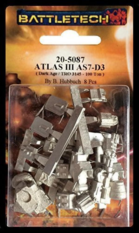 BATTLETECH 205087 Atlas III AS7D3