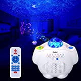 Star Projector Odec Galaxy Projector Night Light with Bluetooth Speaker & LED Nebula Galaxy & Voice Control Lamp for Baby Rooms/Starlit Dinner/Game Rooms/Home Party Gift for Kids and Families
