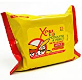 Xpel Kids Mosquito & Insect Repellent Wipes - 25 Per Pack