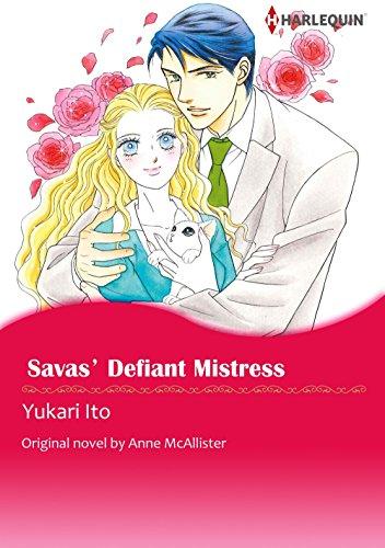 Download Savas' Defiant Mistress: Harlequin comics (English Edition) B01JFDSGBM