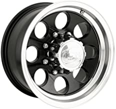Ion Alloy 171 Black Wheel with Machined Lip (16x8
