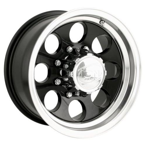 Vision 423 Manic 17x9 5x139.7//5x5.5 12mm Black//Machined Wheel Rim