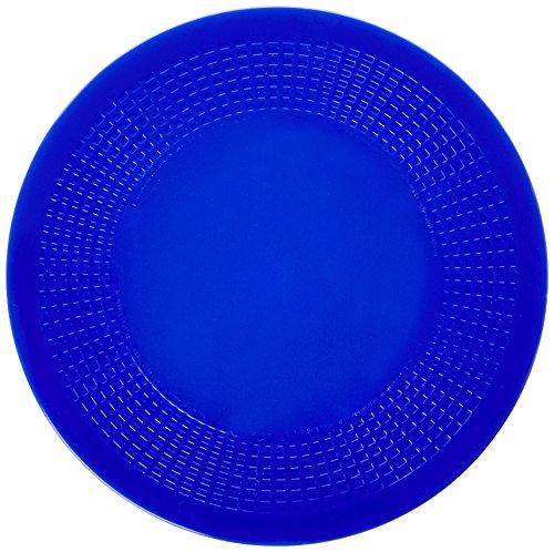 "Dycem - 50-1596B Non-Slip Mat, Blue Textured Pad 7-1/2"" Diameter x 1/8"", red"