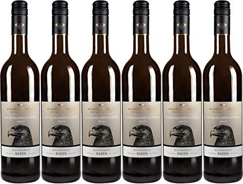 Weinmanufaktur Gengenbach Spätburgunder Rotwein 2018 Lieblich (6 x 0.75 l)