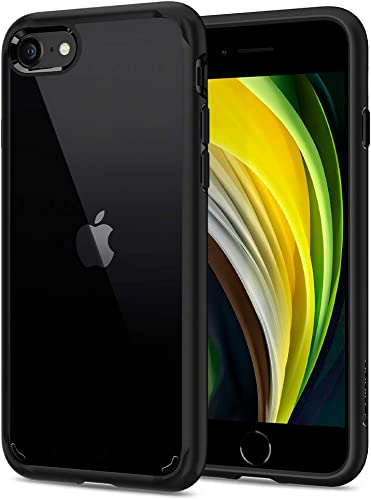 Spigen Ultra Hybrid Back Cover Case Designed For Iphone SE 2020 Iphone 8 Iphone 7 Black